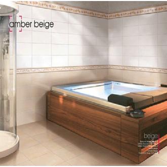 Πλακακια - Μπάνιου - Amber Beige: Γυαλιστερά 20x50cm |Πρέβεζα - Άρτα - Φιλιππιάδα - Ιωάννινα