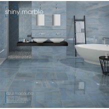 Shiny Marble:Travertino Azul Macauba 20x50cm
