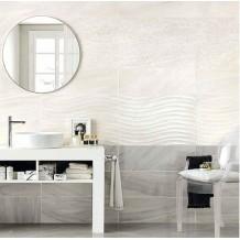 NEW: AGATE White-Mosaico-Grey Γυαλιστερά1° 25x75cm