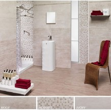 ARCHEO: Beige- Avorio-Mosaico: Επιφάνεια Ματ 25x75cm