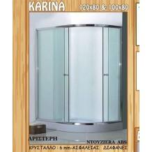 Καμπίνες Πλήρεις με Ντουζιέρα Gloria Karina: 100x80x180h