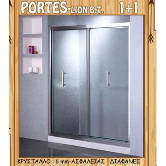 Μπανιο - Καμπίνες Μπάνιου - Διαχωριστικά Μπανιέρας - Καμπίνα Πόρτες (από τοίχο σε τοίχο) Gloria Lion |Πρέβεζα - Άρτα - Φιλιππιάδα - Ιωάννινα