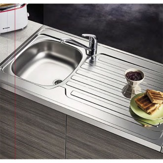 Κουζινα - Νεροχύτες - PYRAMIS International:Ανοξείδωτος με Προφίλ  Διαστάσεις 80x50x15h  |Πρέβεζα - Άρτα - Φιλιππιάδα - Ιωάννινα