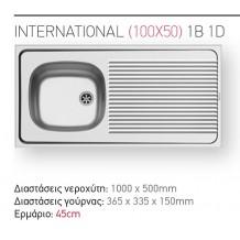 PYRAMIS International:Ανοξείδωτος με Προφίλ  Διαστάσεις 100x50x15h