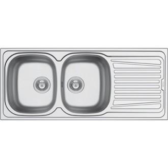 Κουζινα - Νεροχύτες - PYRAMIS:Sparta Ανοξείδωτος νεροχύτης Διαστάσεις 116x50x15 cm |Πρέβεζα - Άρτα - Φιλιππιάδα - Ιωάννινα