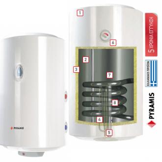 Κουζινα - Θερμοσίφωνες - Boilers - PYRAMIS: Θερμοσίφωνας - Boilers 60 Lt (κάθετο-οριζόντιο-δαπέδου) |Πρέβεζα - Άρτα - Φιλιππιάδα - Ιωάννινα