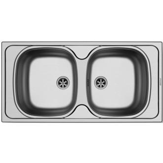 Κουζινα - Νεροχύτες - PYRAMIS:Ανοξείδωτος Νεροχύτης (86X43,5) |Πρέβεζα - Άρτα - Φιλιππιάδα - Ιωάννινα