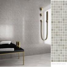 NEW:Mosaico Grey Agate Γυαλιστερά 25x75cm