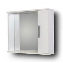 MARTIN:Καθρέφτης 50cm με Ντουλάπι & Φωτιστικό