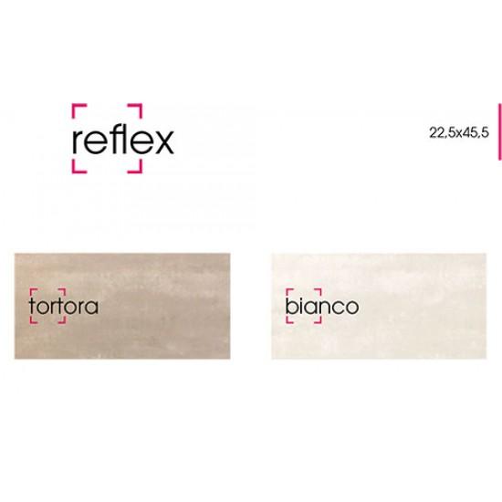 - Μπάνιου - Reflex Bianco e Tortora:22,5x45,5cm-Bianco ...