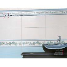Πλακάκια Μπάνιου Γαλάζιο 22,5x45,5cm